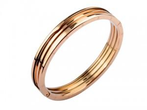 bvlgari b.zero1 bracelet in 18k pink gold