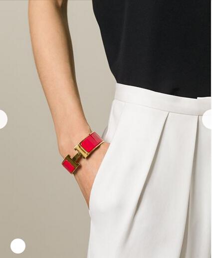 Hermes Vintage Clic Clac H Bracelet