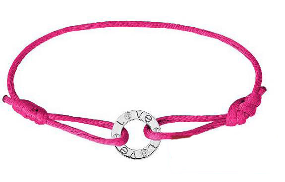 New cartier love bracelet in pink