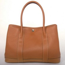 Hermes Garden Party 36CM Bag Clemence Camel
