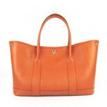 Hermes Garden Party Bag Orange