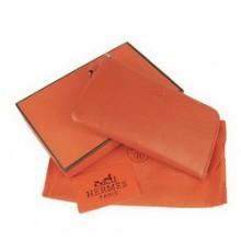 Hermes Zip Around Wallet Cow Leather H010