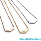 Cartier 18K Gold Plated / Rose Gold / Platinum Heart Necklace