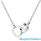 Cartier 18k Platinum Plated Love Necklace