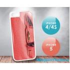 Hermes iPhone5 4/4s Birkin Design Phone Case