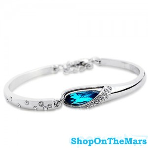 MingLin Fashion 925 Silver Bracelet With Austrian Crystal