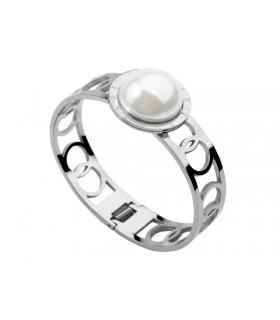 Bvlgari Pearl Bracelet in 18kt White Gold