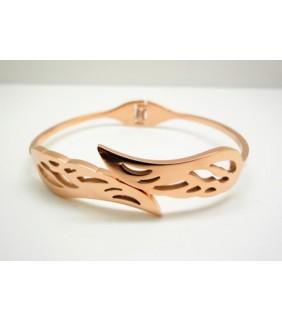 Designer Cartier Wing Bracelet in 18kt Pink Gold