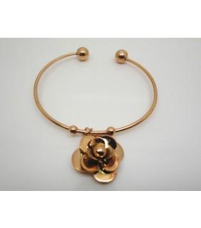 Designer Cartier Caresse D'Orchidees Par Bracelet in 18kt Pink Gold