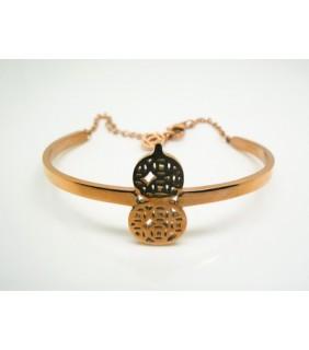 Designer Cartier Cucurbit Bracelet in 18kt Pink Gold