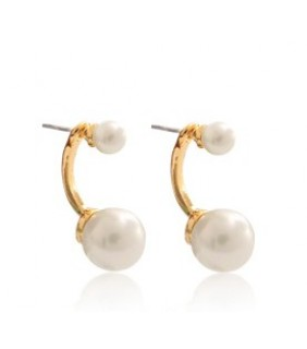 Inspired Cartier Evasions Joailieres Pearl Earrings