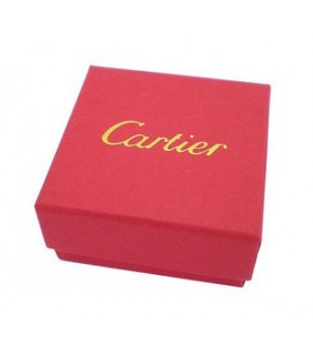 Cartier Jewelry Square Necklace & Earrings Box