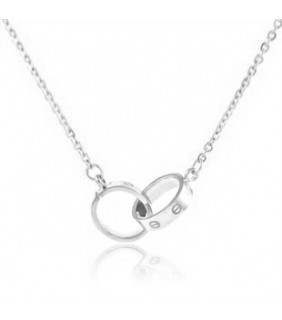 Cartier Love 18K White Gold Necklace.REF:B7013700
