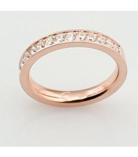 Cartier Band Wedding Ring, Platinum Set With Diamonds,REF:B4071400
