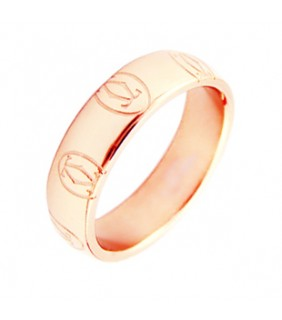 Inspired Cartier Rabbit Ring in Pink Gold