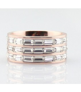 Classic Cartier Trinity 3-Gold Ring