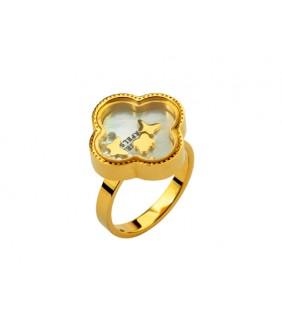 Van Cleef & Arpels Vintage Alhambra Ring in 18kt Yellow Gold