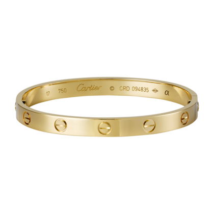 Cartier 1:1 Grade Love bracelet yellow gold+Original Bracelet box