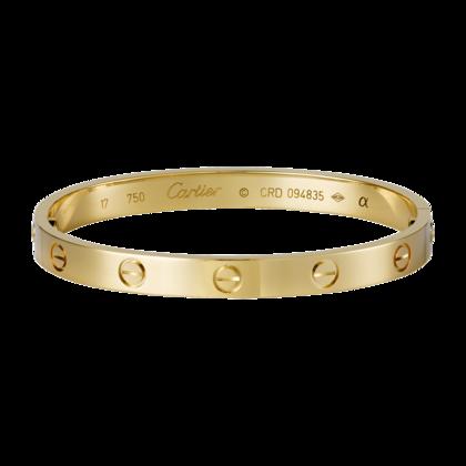 Cartier 1:1 Grade Love bracelet yellow gold+Original Bracelet box
