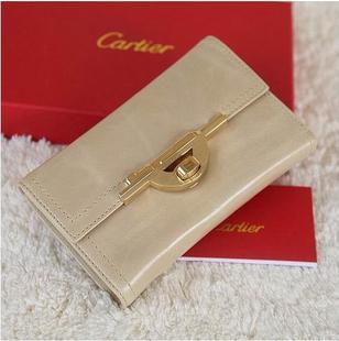 Cartier female models fold in the long wallet