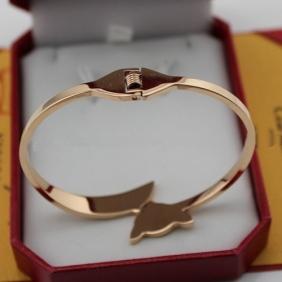 Cartier bracelet Imitation fox pink gold B6035616