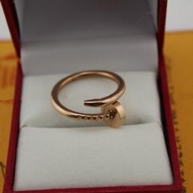Cartier Juste Un Clou ring pink gold