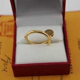 Cartier Juste Un Clou ring yellow gold