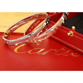 Knockoff Collection logo Cartier bracelet pink gold double C diamonds