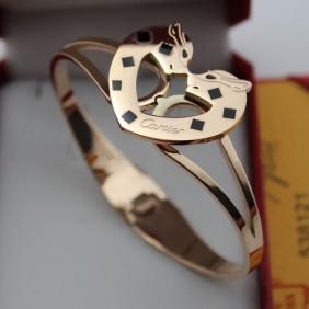 Replica Cartier bracelet Pink gold panthere