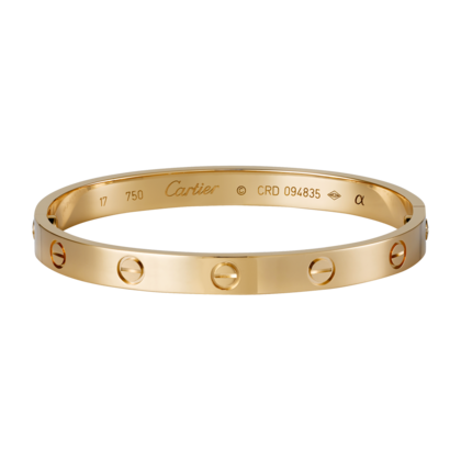 Cartier 1:1 Grade Love bracelet rose gold+Original Bracelet box