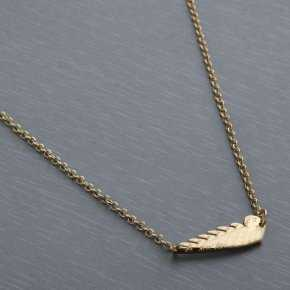 Cartier Angel's Wing Necklace in Yellow Gold Plated