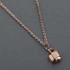 Cartier Apple Necklace in Rose Gold Plated