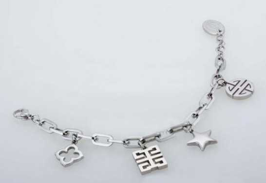Cartier Charms Bracelet in Stainless Steel