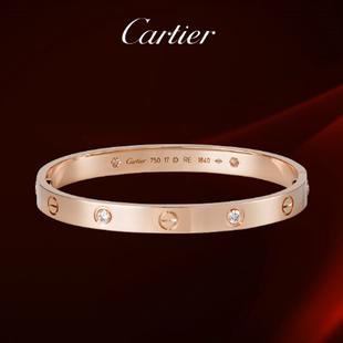 Cartier 1:1 Grade Love Bracelet in Rose Gold+Original Bracelet box