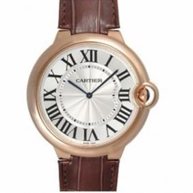 Replica Cartier Ballon Bleu Rose Gold Extra Flat Automatic Mens Watch