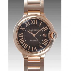 Cheap Sale Men Ballon Bleu de Cartier 18k Watch Black Dial Replica