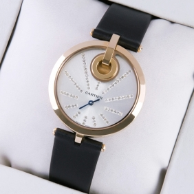Cartier Captive 18k rose gold plated stainless steel Ladies replica
