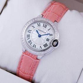 Fake Cartier Ballon Bleu de Cartier Diamonds Ladies Watches WE900351