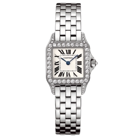 Cheap sale Cartier Classic Santos Demoiselle Diamond Ladies Watches replica