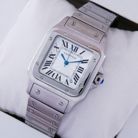Cartier Santos 100 Stainless Steel Midsize Unisex Watches replica