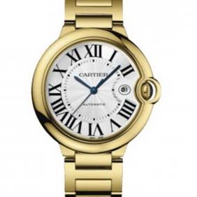 Cheap sale Ballon Bleu Yellow Gold Swiss Automatic Movement Cartier Watch