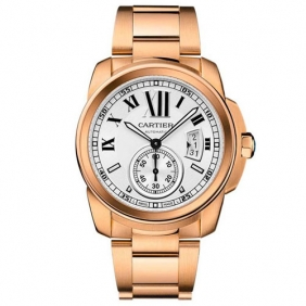 Replica Cartier Calibre Automatic Sapphire Unisex Watches With Sub Dial