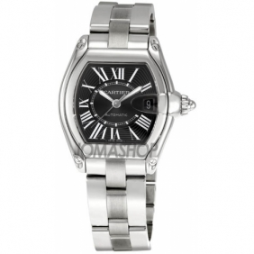 Cheap sale Magnificent Cartier Roadster Mens Automatic Movement Watch