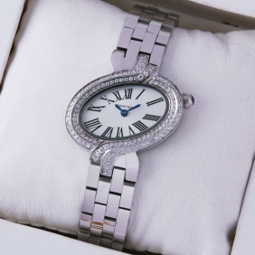 Imitation Delices De Cartier Two-Row Diamonds Ladies watches