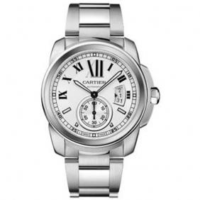 Online Sale Cartier Automatic Men Watch Fake With Sub Dial