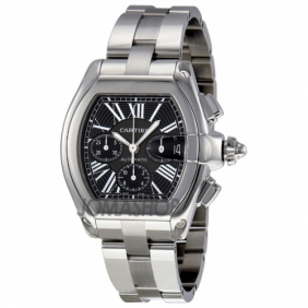 Online Sale Designer Mens Roadster Cartier Automatic Chronograph Watch Replica