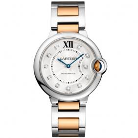 Online Sale Cartier Ballon Bleu Swiss Quartz Midsize Unisex Watch cheap