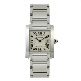 Sale High Imitation Cartier Tank Francaise Square Mens Watch Cheap