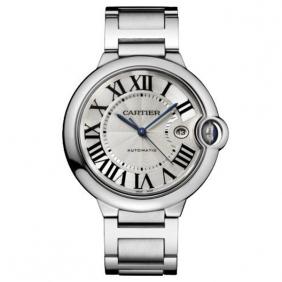 Perfect Mens Ballon Bleu de Catier Watch Silver Dial Automatic Movement