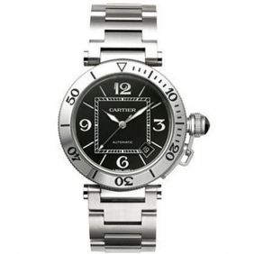 New Arrival Cartier Pasha Seatimer Automatic Mens Watch From cl1166